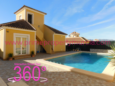 Ref:1758 Detached Villa For Sale in Mazarron Country Club