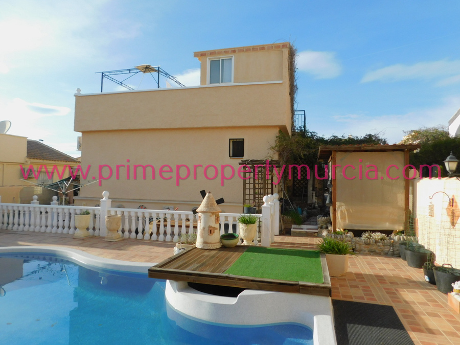 Detached Villa 3 Bedroom Mazarron