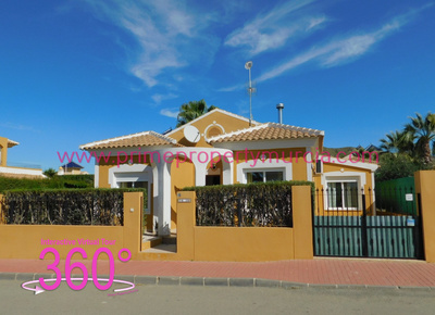 Ref:1790 Detached Villa For Sale in Mazarron Country Club