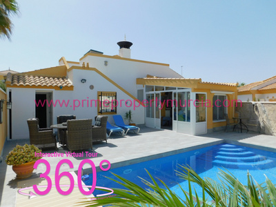 Ref:1796 Detached Villa For Sale in Mazarron Country Club