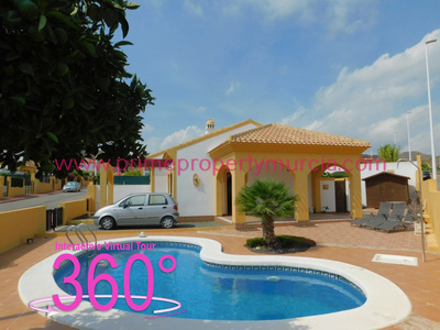 Ref:1802 Detached Villa For Sale in Mazarron Country Club