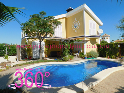 Ref:1803 Detached Villa For Sale in Mazarron Country Club