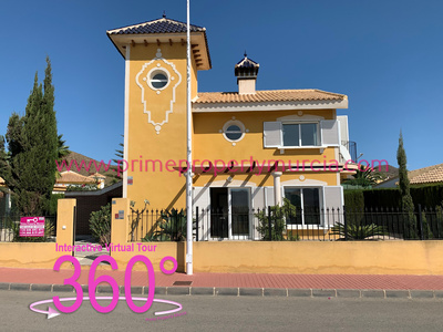 Ref:1813 Detached Villa For Sale in Mazarron Country Club