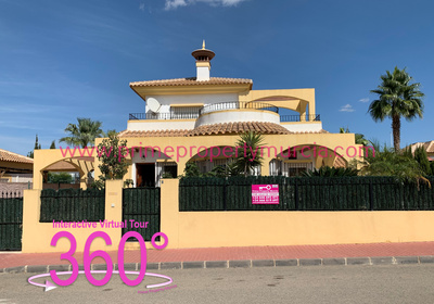 Ref:1814 Detached Villa For Sale in Mazarron Country Club