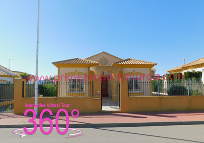 Ref:1810 Detached Villa For Sale in Mazarron Country Club