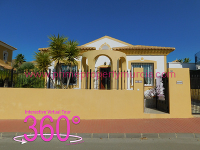 Ref:1819 Detached Villa For Sale in Mazarron Country Club