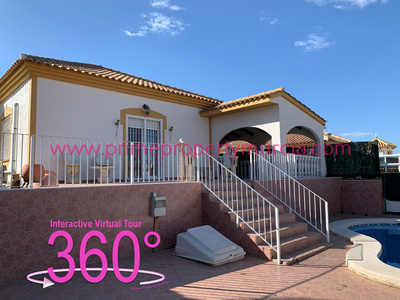 Ref:1822 Detached Villa For Sale in Mazarron Country Club