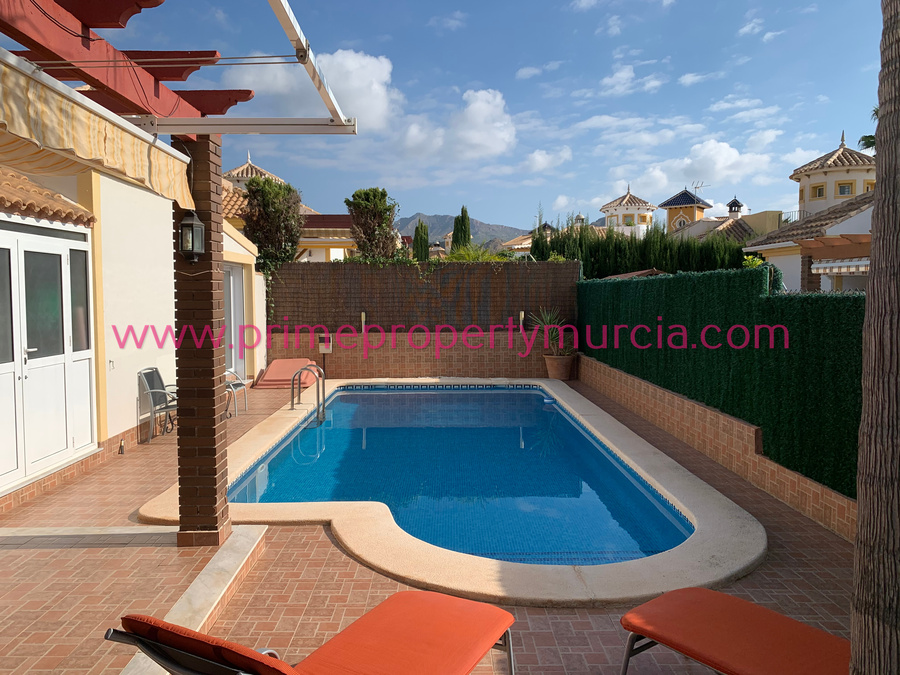 Mazarron Country Club Detached Villa Murcia