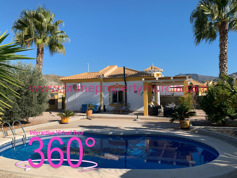 Detached Villa For sale Mazarron Country Club