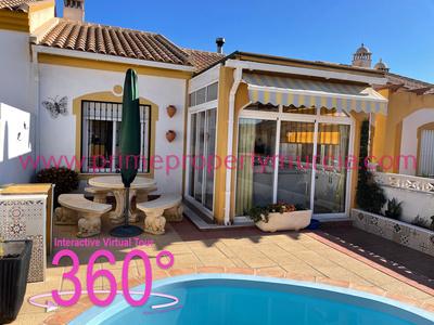 Ref:1828 Villa For Sale in Mazarron Country Club